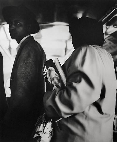 On the 22 Line, San Francisco, California 1948 gelatin silver print