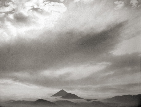 Mountains and Mist, Guatemala 1975 gelatin silver print