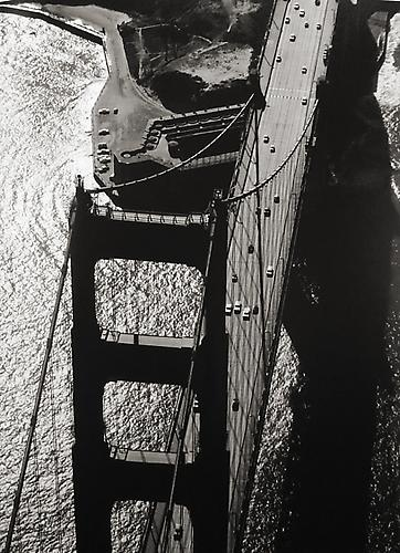 Old Fort Point Aerial 1959 gelatin silver print