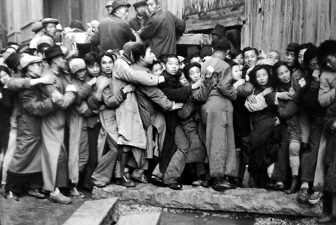 Last Days of the Kuomintang, Shanghai 1949 gelatin silver print