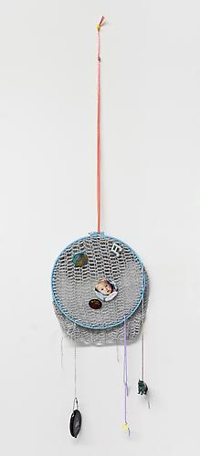 Baby Love , 2012 Mixed media 46 x 11 x 1 inches