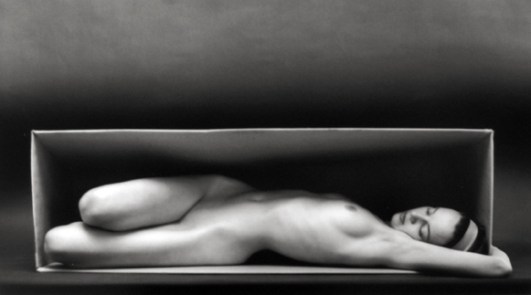 In the Box - Horizontal 1962 gelatin silver print