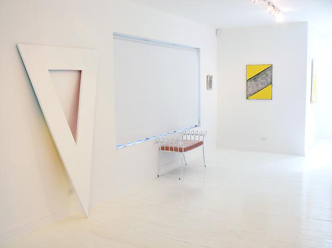 "Andrew Brischler, ""Goodbye to All That"", 2012, Install View"