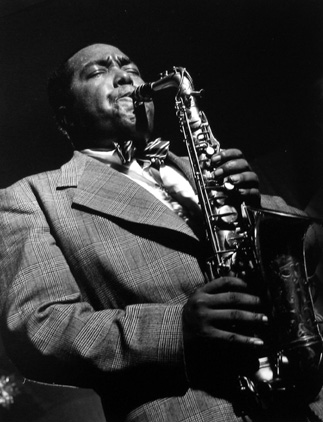 Charlie 'Bird' Parker, New York City 1949 gelatin silver print