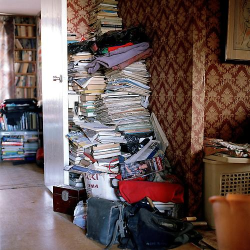 OLGA CHAGAOUTDINOVA | STACK OF BOOKS | C-PRINT | 61 x 61 CENTIMETERS | 2004