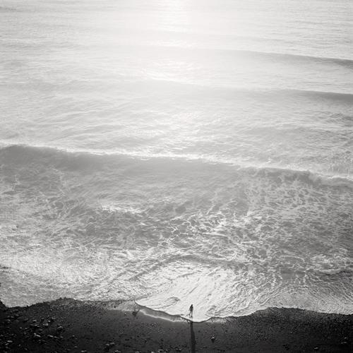 Figure and Tide 2001 gelatin silver print
