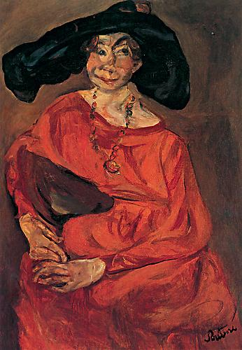 Chaim Soutine,  Woman in Red , c. 1923–24