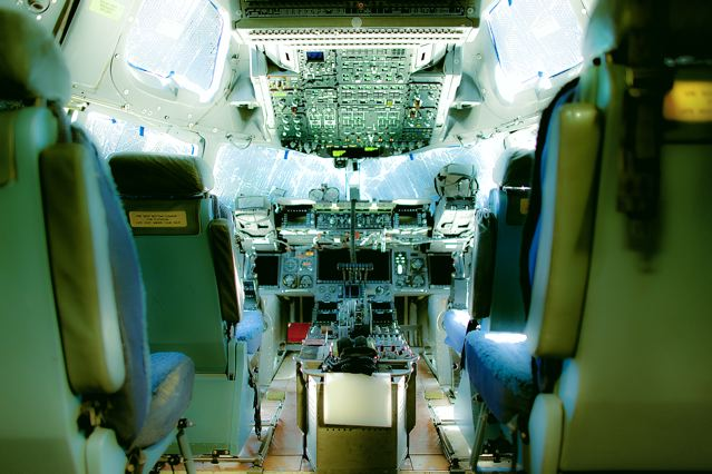 Globemaster Cockpit, 2010 from 'Aerospace' pigment print