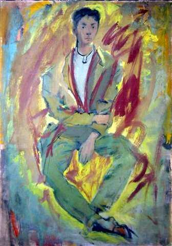 Portrait of Conrad,1948 Oil on canvas	 43 x 29 inches (109.22 x 73.66 cm)	 DEKO_E_018