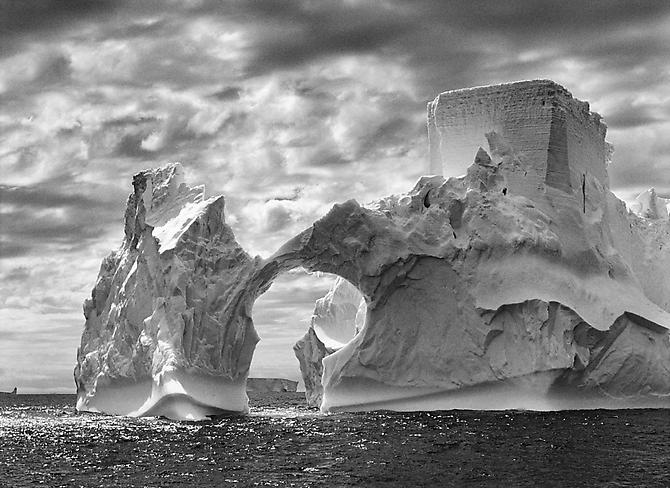 Iceberg between Paulet Island & the Shetlands Islands, Antarctica 2005