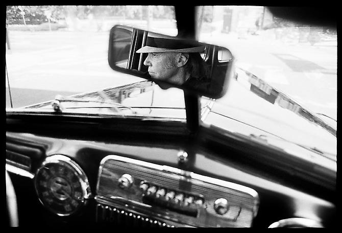 Danny Clinch, Neil Young, Rearview Mirror, Nashville 2005 gelatin silver print