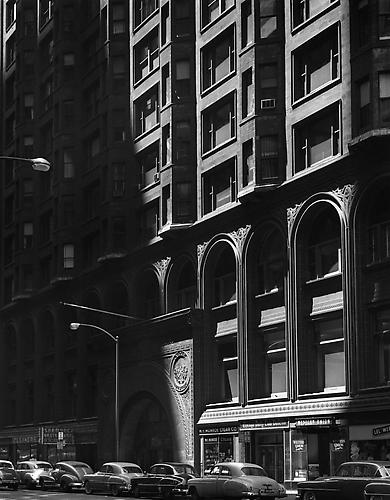 The Chicago Stock Exchange 1954 gelatin silver print