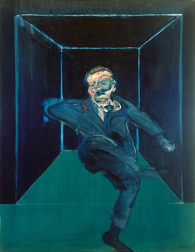 Francis Bacon,  Seated Figure , 1960 Albertina, Vienna—Batliner Collection