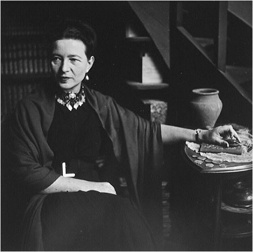 Simone de Beauvoir 1949