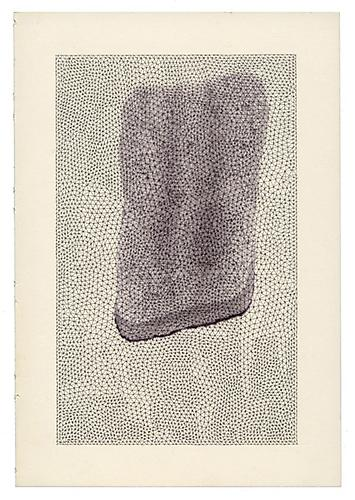 Renato Orara & Jacob El Hanani, Untitled (Collaboration), 2006-9 Ballpoint pen, ink, paper, 8 x 5.5 inches