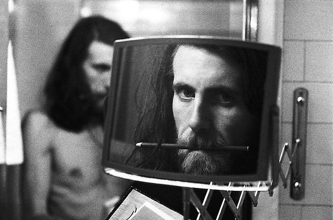 Graham Nash, Self Portrait, Plaza Hotel, NYC 1974