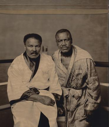 Muhammad Ali and Joe Frazier, Philadelphia, Pennsylvania