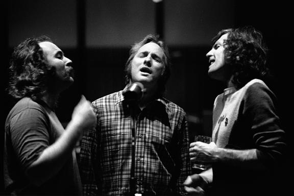 Crosby, Stills and Nash, Criteria Studios, Miami 1977 gelatin silver print