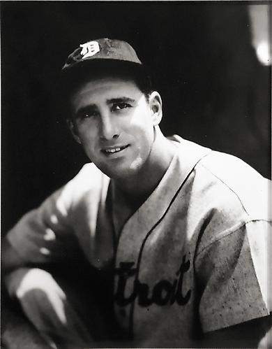 Hank Greenberg Portrait not dated gelatin silver print