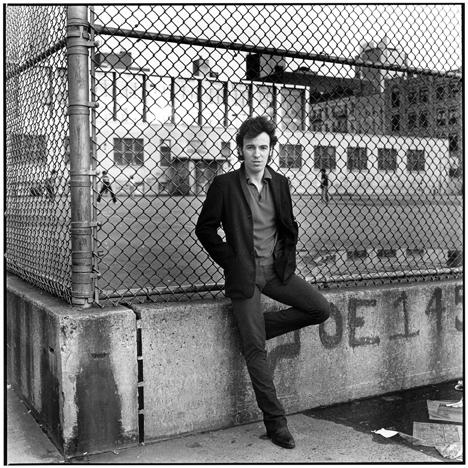 Bruce Springsteen, Hell's Kitchen, NYC 1979 gelatin silver print