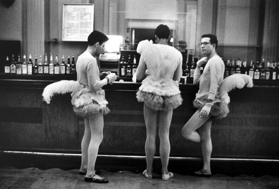 New York [Men in tutus] 1956