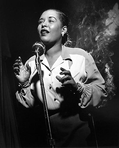 Billie Holiday, New York City 1949 gelatin silver print