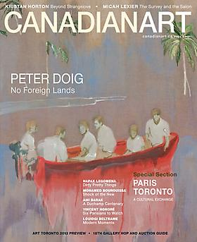 "ADRIAN GÖLLNER EXHIBITION ""NORWEGIAN WOOD"" REVIEWED IN THE CURRENT FALL ISSUE OF CANADIAN ART MAGAZINE"