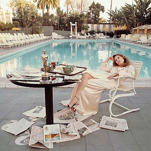 Faye Dunaway, Los Angeles 1977 chromogenic print