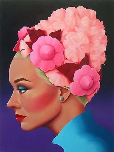 Starla, 2009 Oil on canvas 48 x 36 inches