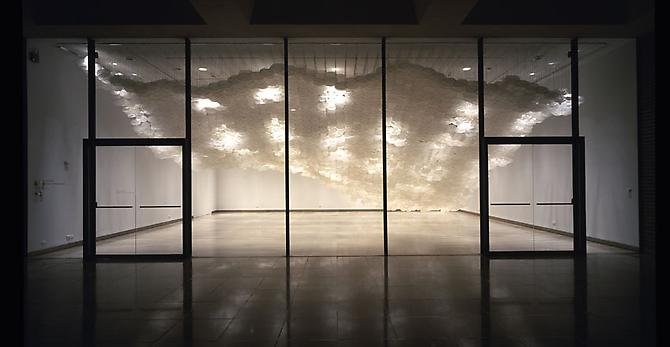 Superabundant Atmosphere, 2005 Selected Installations, Rice University Art Gallery