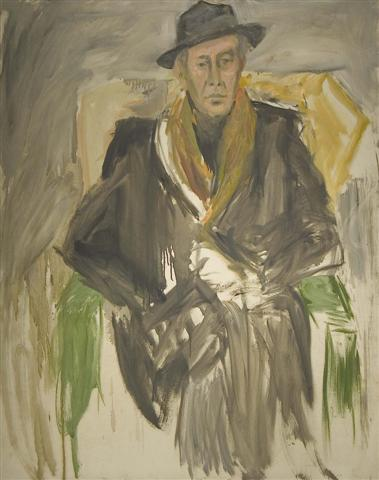 Portrait of Paul Moczanyi,1967 Oil on canvas	 60 x 48 inches (152.4 x 121.92 cm)		 Unsigned; Estate stamped DEKO_E_026