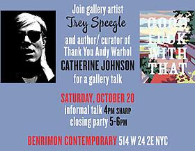 Good Luck With That & Thank You Andy Warhol Gallery Talk