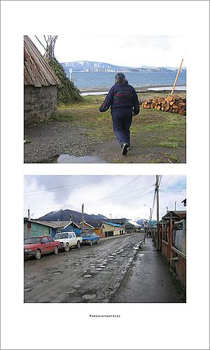 PABLO HELGUERA  Conservatory of Dead Languages: Cristina Calderón (b. 1929) , 2013 C-Print; 18 x 30 inches, framed; Cristina Calderón (b. 1928) is the last living speaker of Yaghan in Puerto Williams, Tierra del Fuego   View More  ➤