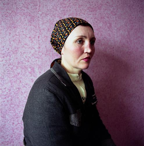 Ira, Sentenced for Theft, Women's Prison, Ukraine , 2009 C-Print 37 x 37 inches Edition of 7