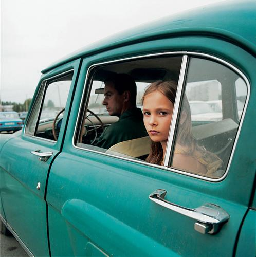 Alicia, Ukraine , 2005 C-Print 37 x 37 inches Edition of 5