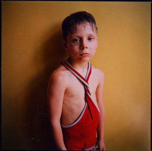Black Eye, Ukraine , 2006 C-Print 37 x 37 inches  Edition of 5