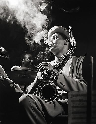 Herman Leonard, Dexter Gordon, New York City 1948