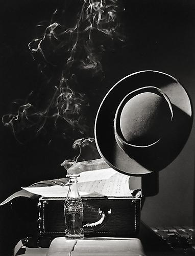Herman Leonard, Lester 'Prez' Young, New York City 1948