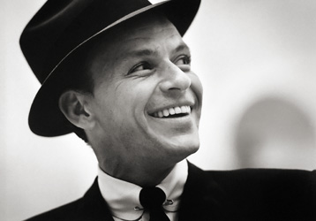Herman Leonard, Frank Sinatra, New York City [smiling] 1956