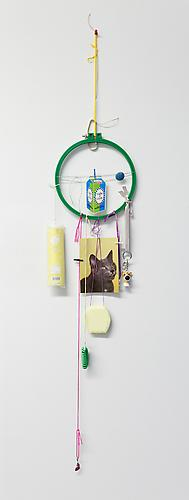 Light 'n' Lively , 2012 Mixed media 46 x 9 x 1 inches