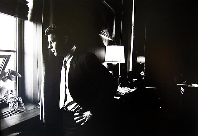 """The Attorney General in his Office"" Robert F. Kennedy July, 1961 Gelatin Silver Print"