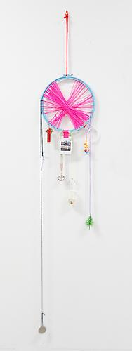 Lucky Lotto , 2012 Mixed media 60 x 10 x 1 inches