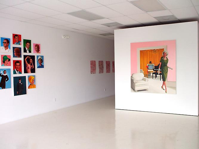 "Installation View ""Solo Exhibition 2009"" Gavlak Gallery,"