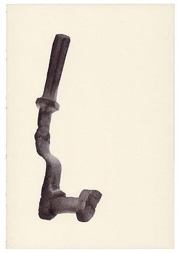 Renato Orara, Untitled (from ten thousand things that breathe), 2009 Ballpoint pen on paper, 8 x 5.5 inches