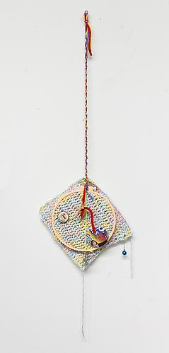 Sad Sack , 2012 Mixed media 34 x 10 x 1 inches