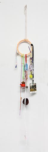 Sunday Funday , 2011 Mixed media 58 x 8 x 1 inches