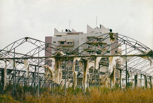 "Dan Galssar,  Kiriyat Malakhi:""Greenhouse-City"" , 2007 Inkjet print 15.75 x 23.62 inches 40 x 60 cm Edition of 5"