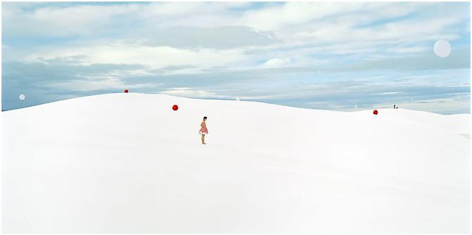 Vega & Altair, 2010 Chromogenic print, mounted to dibond Limited edition of 3 30 x 60 inches