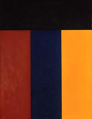 "Brice Marden, ""Elements V,"" 1984 Oil on linen, 48 x 36 inches"