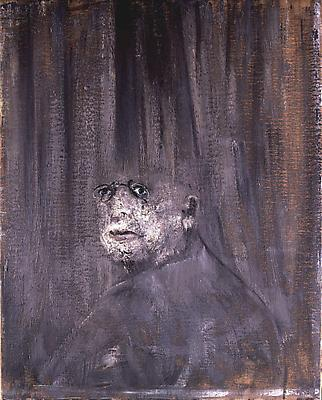 "Francis Bacon, ""Head III"" 1949 Oil on canvas 32 x 26 in. (81 x 66 cm ) Image"